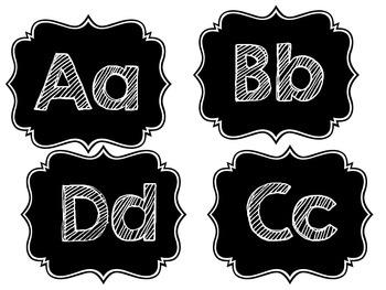 ABC- Chalkboard
