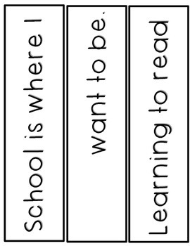 ABC Pocket Chart Chant