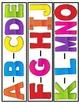 ABC Pocket Chart Chant