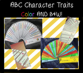 ABC Character Traits FULL COLOR AND B&W packet - Personal use