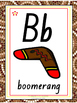 Australian Aboriginal Alphabet Chart, letter tracing and SNAP cards NSW
