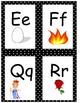 ABC Chart with polka dot frames