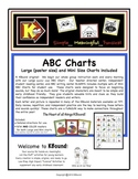 ABC Charts. Large Poster Size and Mini Size Included. A KB