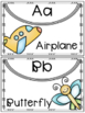 ABC Charts, Posters, and Word Wall Headers