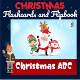 ABC Christmas Printable Flashcards, Digital Flipbook