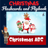 ABC Christmas Printable Flashcards, Digital Flipbook