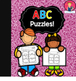 ABC Puzzles in English and Spanish for Kindergarten
