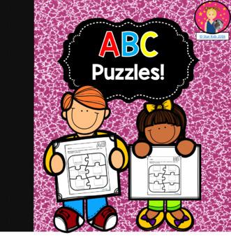 ABC Circle Maps {English and Spanish}