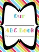 ABC Class Book with Cover: Fits Any Subject Matter