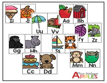 ABC Classroom Posters