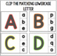 ABC Clip Cards