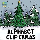 ABC Clip Cards--Christmas Edition