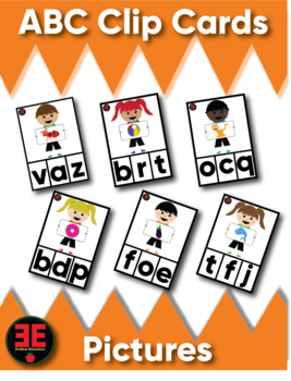 ABC Clip Cards (Pictures)