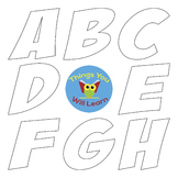 ABC Clipart Black-line Transparent
