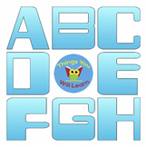 ABC Clipart Digital Sky Blue