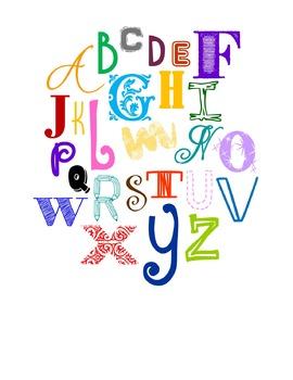 ABC Collage (colored)