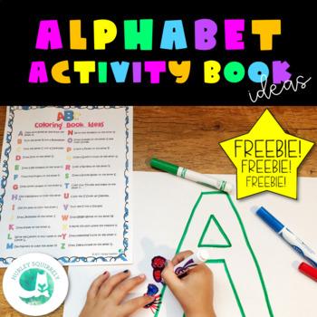 ABC Coloring Book Ideas