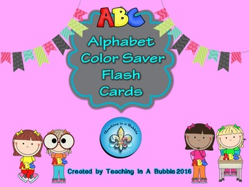 Alphabet Flash Cards Black & White Version
