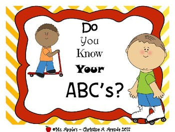 ABC Color, Trace, Cut and Paste