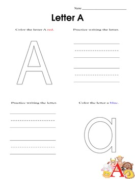 ABC Color and Write