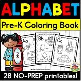 ABC Coloring Book Printables