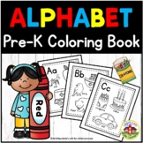 ABC Coloring Book Printables