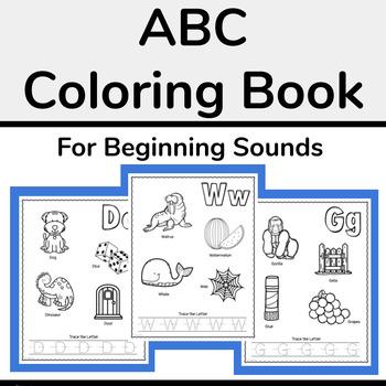 Alphabet Coloring Book (ABC Coloring)