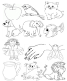 ABC Coloring Pictures