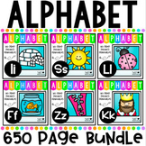 Alphabet Letter of The Week Back To School MEGA BUNDLE