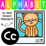 Alphabet Letter Of The Week Program - Alphabet Letter C Package