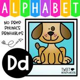 Alphabet Letter Of The Week Program - Alphabet Letter D Package