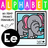 Alphabet Letter Of The Week Program - Alphabet Letter E Package