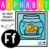 Alphabet Letter Of The Week Program - Alphabet Letter F Package