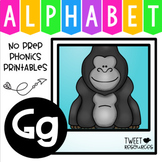 Alphabet Letter Of The Week G
