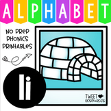 Alphabet Letter Of The Week Program - Alphabet Letter I Package