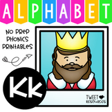 Alphabet Letter Of The Week Program - Alphabet Letter K Package
