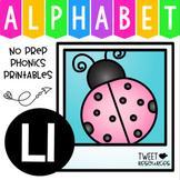 Alphabet Letter Of The Week Program - Alphabet Letter L Package