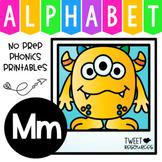 Alphabet Letter Of The Week Program - Alphabet Letter M Package