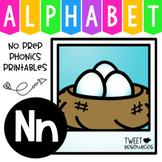 Alphabet Letter Of The Week Program - Alphabet Letter N Package