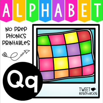 Alphabet Letter Of The Week Q