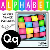 Alphabet Letter Of The Week Program - Alphabet Letter Q Package