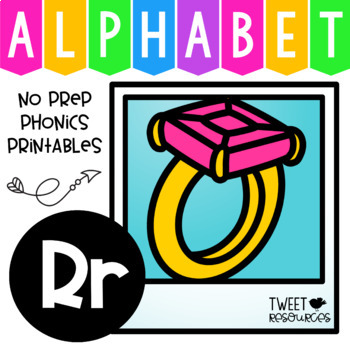 Alphabet Letter Of The Week R