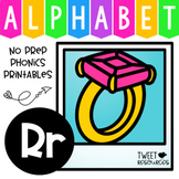 Alphabet Letter Of The Week Program - Alphabet Letter R Package