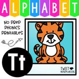 Alphabet Letter Of The Week Program - Alphabet Letter T Package