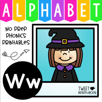 Alphabet Letter Of The Week W