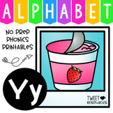 Alphabet Letter Of The Week Program - Alphabet Letter Y Package