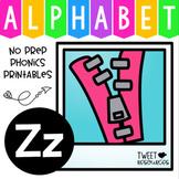 Alphabet Letter Of The Week Program - Alphabet Letter Z Package