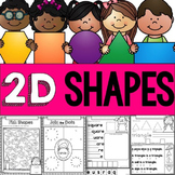 2D Shapes No Prep Printables