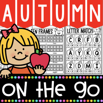 Fall Activities for Kindergarten No Prep Printables