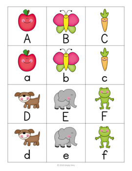 Free Download! ABC Memory / Concentration Games